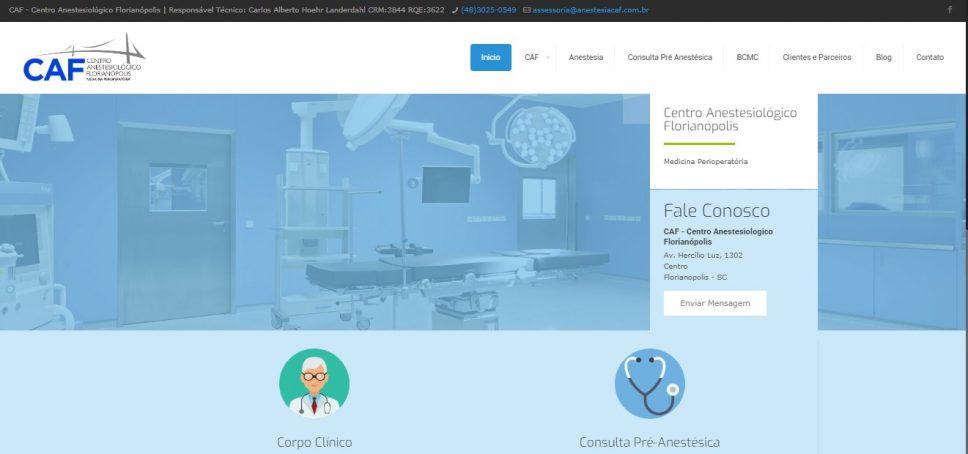 CAF Centro anestesiologico florianopolis